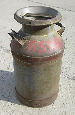 Vintage Milk Can - Great Decorator / Collector Piece  - Turn of Century Item