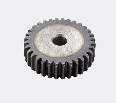 45# Steel Motor Gear Spur Gear 2Mod 20Tooth Thickness 20mm x 1Pcs