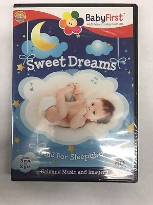 BabyFirst: Sweet Dreams - Calming Music & Imagery (DVD, 2014) NEW!