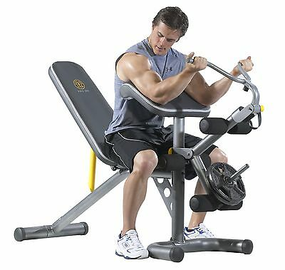 Gold's Gym GGBE1486 XRS 20 Olympic Bench Gray