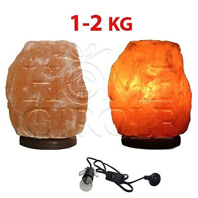 Salt Lamps Positive Energy : Himalayan rock salt lamp, needs new globe. AUD 10.00 - PicClick AU