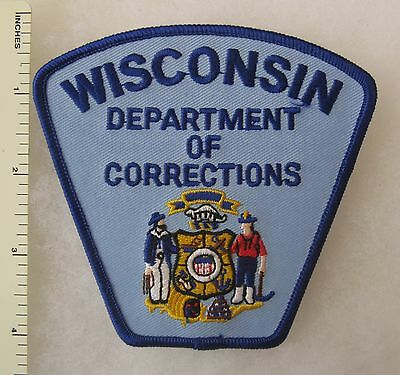 WISCONSIN DEPARTMENT of CORRECTIONS PATCH Vintage ORIGINAL