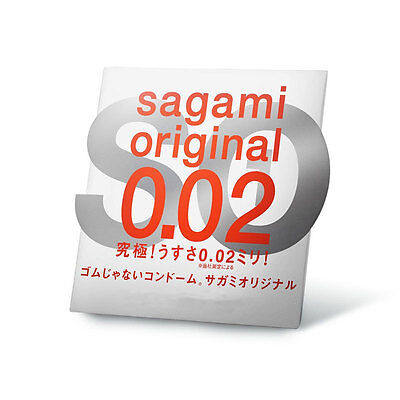 Sagami Original 002 Tighter Fitting Non Latex (1 Condom)