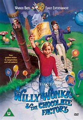 Willy Wonka and the Chocolate Factory - DVD Region 2 Free Shipping!