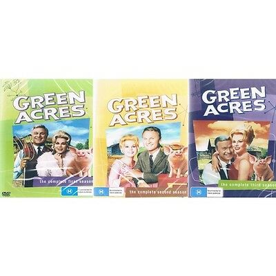 Green Acres  The complete First (1) Second (2) Third (3) Season Dvd( Brand New +