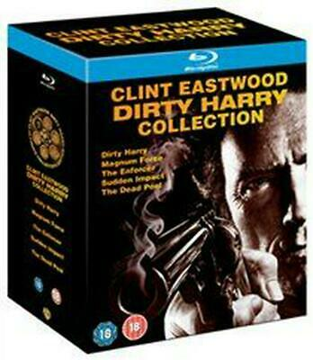 Dirty Harry Collection - Blu-ray Region ABC Free Shipping!