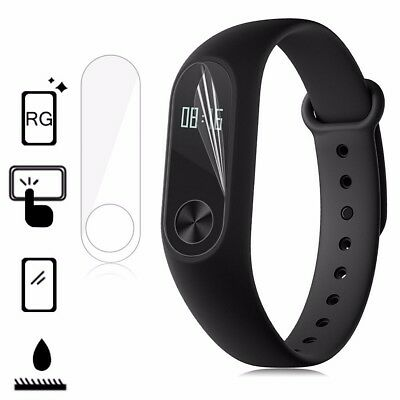 5 Pcs Clear Screen Protector Film Anti Scratch For Xiaomi Mi Band 2 Replacement