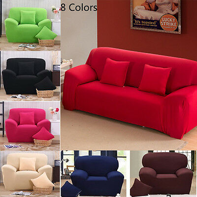 1 2 3 4 Seater Protector Couch Cover Slipcover Stretch Chair Cover Sofa Covers