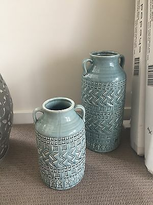 Large Vase Blue NF living Set of two