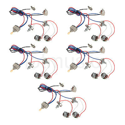 guitar wiring harness kits guitar image wiring diagram guitar wiring harness kit 2v2t pot jack 3 way switch for les paul on guitar wiring