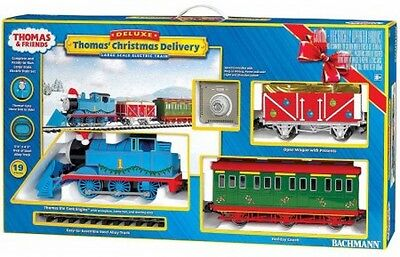 Thomas And Friends Thomas' Christmas Delivery , Large Scale Electric Train Set