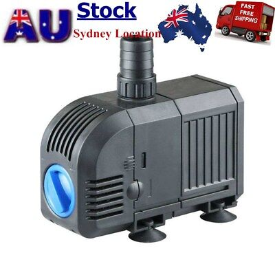 Submersible Water Pump 1500L/H 25W Aquarium Fish Tank Fountain Pond AU STOCK