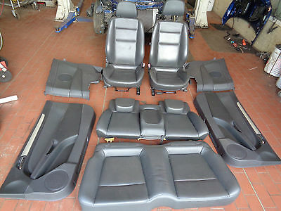 Leather seats with Airbag, Heater Türpappen complete Opel Astra H Twin Top