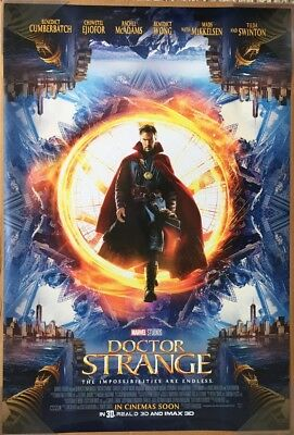 DOCTOR STRANGE MOVIE POSTER DS ORIGINAL INTL FINAL 27x40 BENEDICT CUMBERBATCH