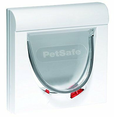 Petsafe Staywell Magnetic 4 Way Locking Classic Cat Flap Pet New UK SELLER