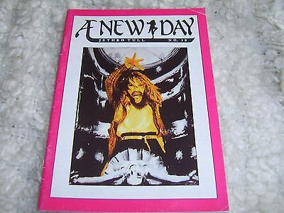 Jethro Tull a new day Fanzine Magazine No. 30. 35 pages 1991