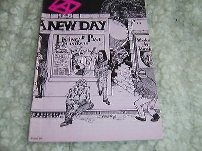 Jethro Tull a new day Fanzine Magazine No.26 .December 1989 pages 31