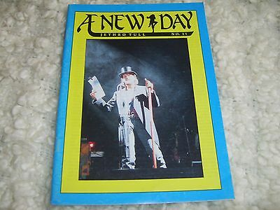 Jethro Tull a new day Fanzine Magazine No.35 .December 1992 pages 31