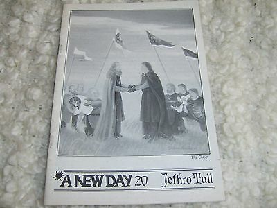 Jethro Tull a new day Fanzine Magazine No.20 September  1989 pages 31