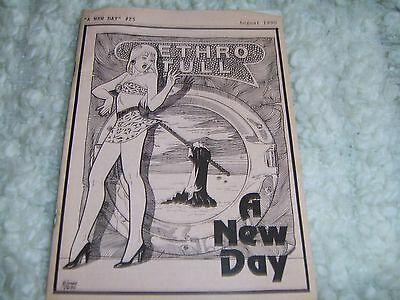 Jethro Tull a new day Fanzine Magazine No.25 August 1990 pages 35