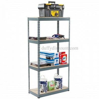 Boltless Shelving 95kg 1500x750x375 (Galvanise) suitable for Garages / Sheds.