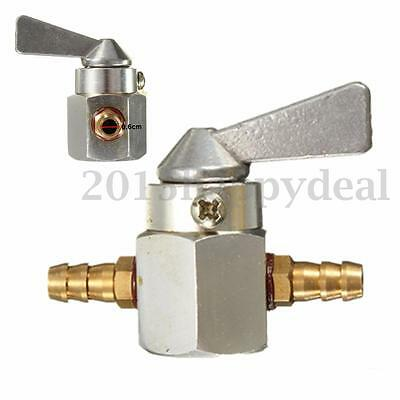 Universal 6Mm Motorcycle Atv Dirt Bike In-Line Petrol On-Off Fuel Tap Switch Uk