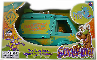 Scooby Doo Goo Busters Mystery Machine Playset Toy New 3+