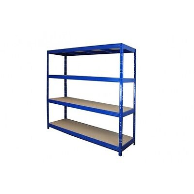 Long Span Racking 2000H X 2000W X 600D 250Kg/Shelf (Blue) Warehouses and Office
