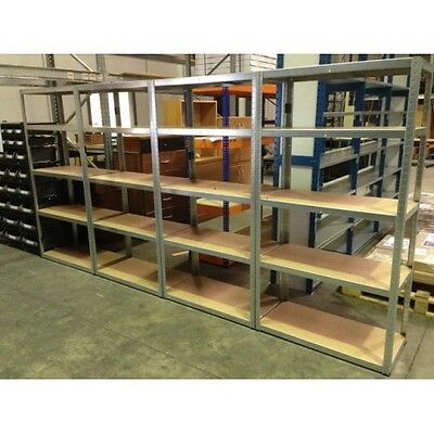 10 Bay Special Boltless Shelving 300Kg 1780X900X450 (Galvanise) Delivery Include