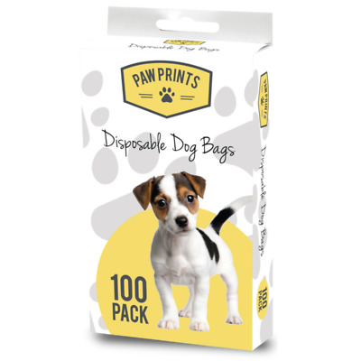 Disposable Doggy Poop 100 Bags