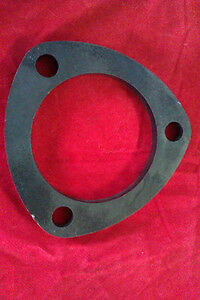 "Exhaust Flange Mild Steel 3"" Bore 76mm 3 Pin Bolts De-Cat Pipe 8mm Thick"