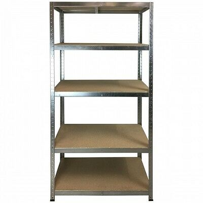 5 Bay Special Boltless Shelving 300Kg 1780X900X450 (Galvanise) Delivery Included