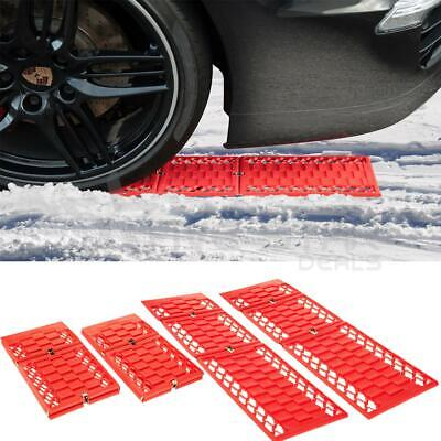Pack Of 2 Car Van Tyre Grip Snow Sand Mud Mats Vehicle Traction Rescue Tracks