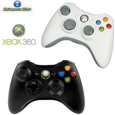 Controller Wireless Xbox 360 Joystick Pad Compatibile Per Console E Pc