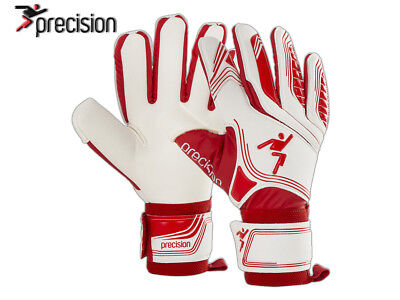 *brand New* Precision - Premier Red Shadow Goalkeeper Gloves - Red/white