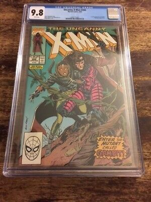 X-Men 266 Cgc 9.8 1St App Gambit Hot