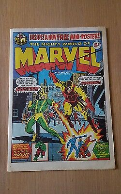 Original The mighty world of Marvel Comic No23 1973