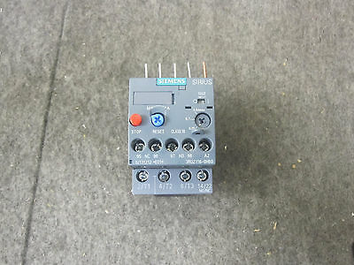 New Siemens 3Ru2116-0Hb0 Overload Relay .55-.8Amp For Motor Protector