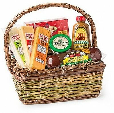 Deli Direct Wisconsin Cheese And Sausage Small Gift Pack, NO Sales Tax~