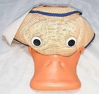 Vintage Commemorative Donald Duck Birthday Hat with Working Squeaker Disney Cap
