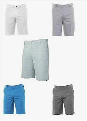 Adidas Flat Front Ultimate Dot Plaid Golf Short 34- 42 Waist Available(5-Colors)