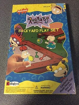 Rugrats COLORFORM Backyard Play Set 1997 NEW Sealed