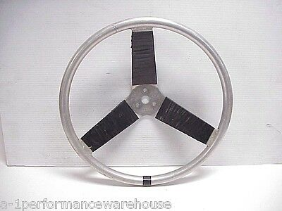 "Sweet Race Car 3 Spoke 14"" Aluminum Steering Wheel IMCA Sprint Car Vintage SW5"