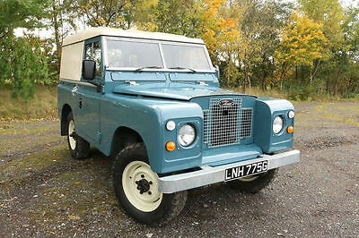 Land Rover Series 2a 200 TDI Conversion 1969 Hard Top Tax Exempt