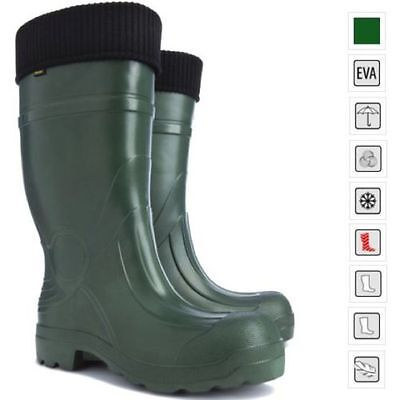 Thermal LIGHTWEIGHT EVA Wellies Wellingtons Boots -35C Hunter Voyager Forest UK