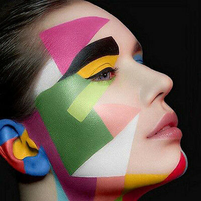 12 Colors Face Body Paint Oil Painting Art Make Up Christmas Party Kit Set