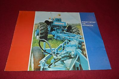 Ford Tractor Tillage Equipment For 1967 Dealer's Brochure YABE10