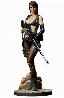 NEW Metal Gear Solid V the Phantom Pain Quiet 1/6 scale Figure EMS F/S Gecco