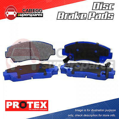 4pcs Rear Protex Disc Brake Pads For HOLDEN Statesman Caprice WB 80-85