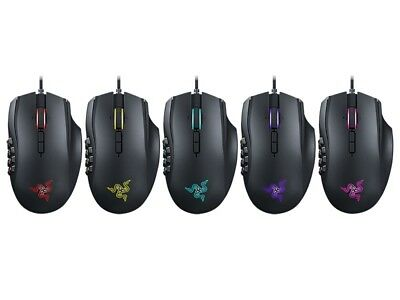 NEW Razer Naga Chroma RGB 16000 DPI 5G Laser Sensor Mechanical MMO Gaming Mouse
